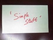 SimpleStuff