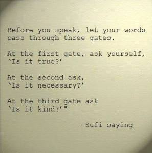 Sufi saying